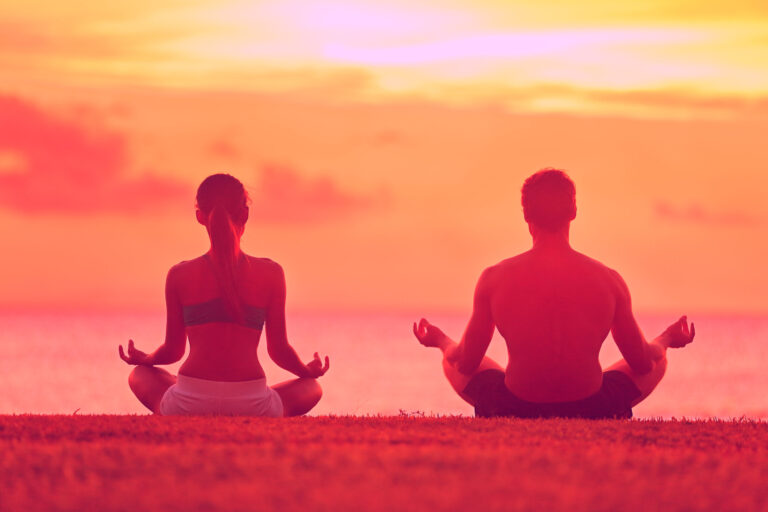 couple meditation